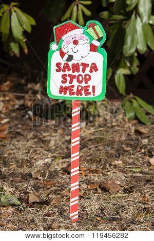Christmas Yard Stake