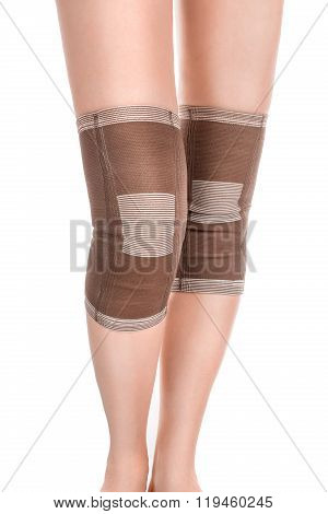 Legs With Tourmaline Knee Pads