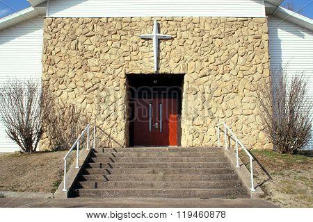 Cross Over Church Doorway