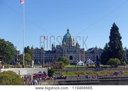 Victoria Parliament building