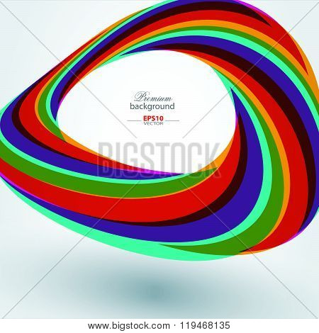 Abstract technology rainbow background