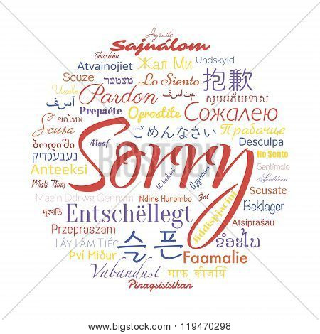 sorry foreign languages