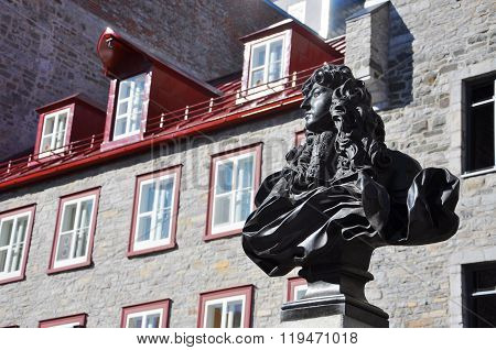 King Louis XIV Statue, Place Royale, Quebec City