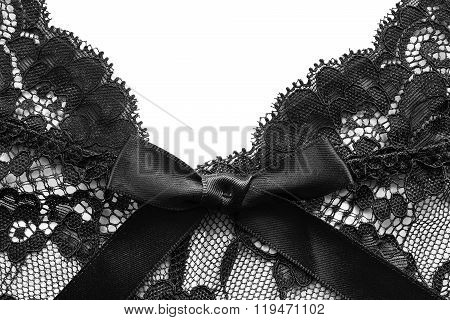 Black Lace Background