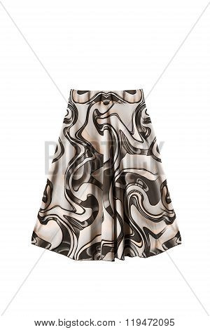 Silk Skirt Isolated