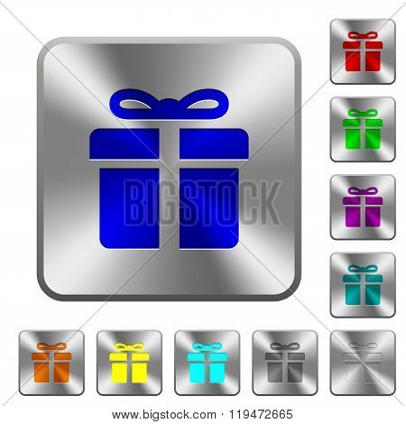 Steel Gift Buttons