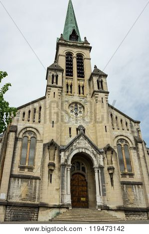 Cathedral Of Aix-les-bains