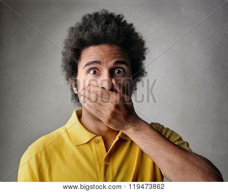 Shocked guy