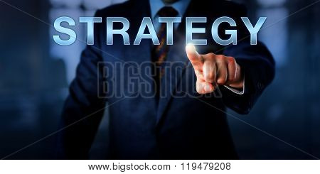 Business Manager Touching Strategy