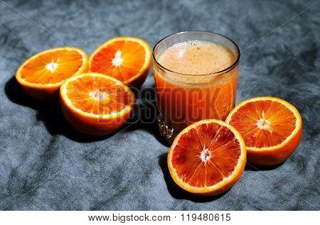 juice of bloody oranges