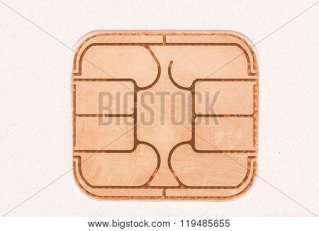 Card Chip Vintage