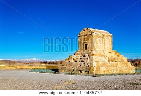 Tomb of Cyrus the Great in Pasargadae, Iran
