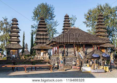 Bali, Indonesia - Circa October 2015: Pura Ulun Danu Batur, Bali,  Indonesia