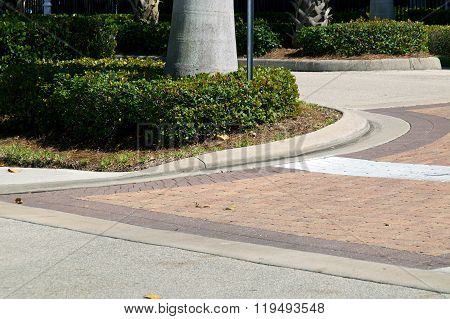 Curved Driveway