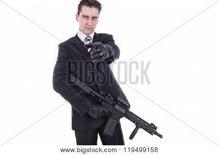 Secret Agent Or Terrorist