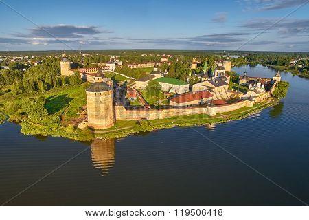 Kirillo-Belozerskiy Monastery Bird-Eye view