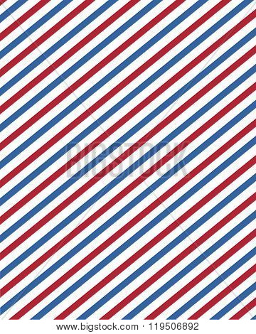 Vector barber pole stripped pattern