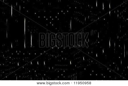 black high-tech background