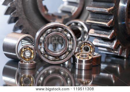 Ball Bearings And Gears