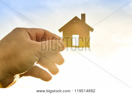The concept of building houses on sky