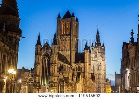 Saint Nicholas' Church In Ghent