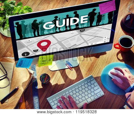 Guide Strategy Advice Guidance Manage Concept