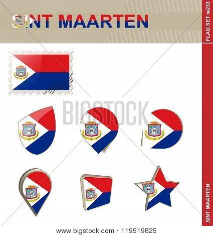 Sint Maarten Flag Set, Flag Set #233