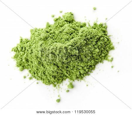 Young Barley Or Wheat Grass, Detox Superfood, White Background