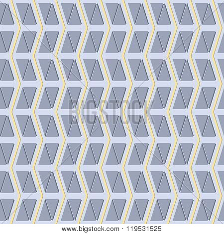 Seamless Pattern Of Vertical Zigzag And Triangles