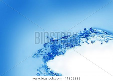 Beautiful water splash