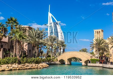 Burj Al Arab And Madinat Jumeirah