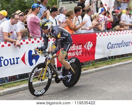 The Cyclist Tyler Farrar - Tour De France 2015