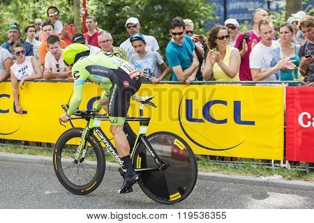 The Cyclist Nathan Haas - Tour De France 2015