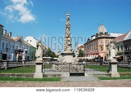 Old Monument In Kosice City.