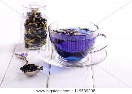 Butterfly Pea Blue Tea
