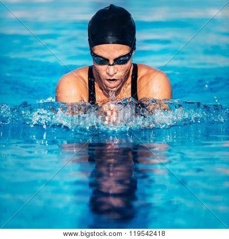 Breaststroke Swimmer
