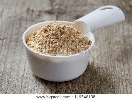 Measuring Scoop Of Maca Powder