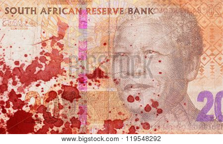 Twenty South African Rand, Blood