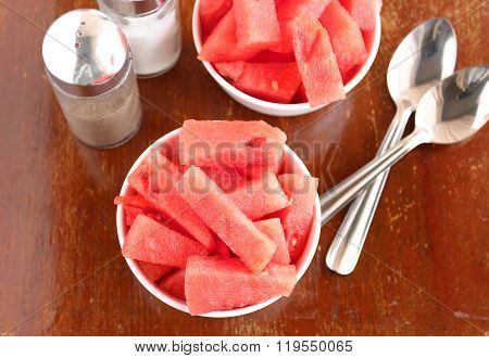 Healthy Snack Watermelon