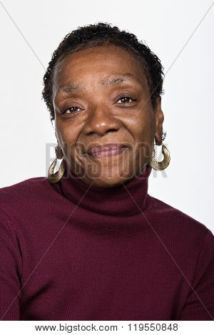 Portrait of mature African American woman