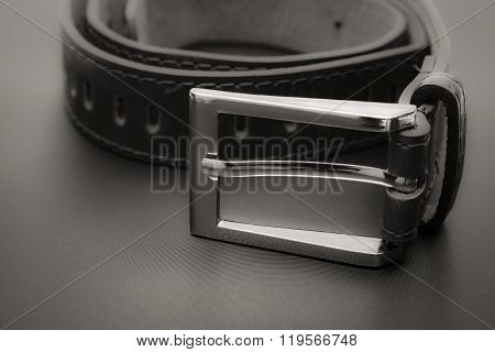 Leather belt for men1.