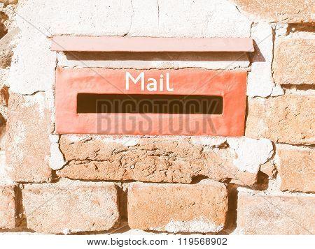 Old Mailbox Vintage
