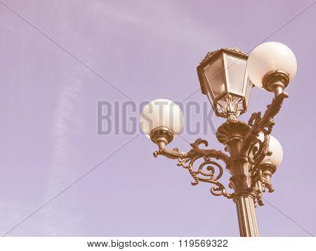 Street Lights Vintage