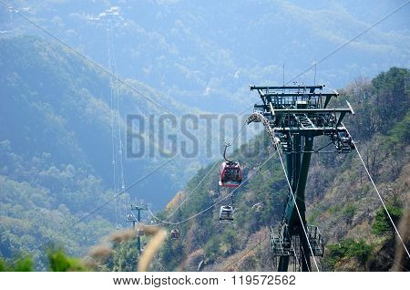 Mount Tai Cable Car