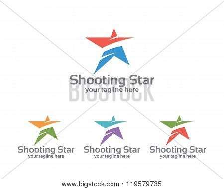 Abstract Star Business Identity Logo Template. Star Vector Logo Design Branding Corporate Identity.