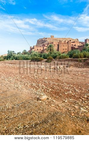 Ait Benhaddou,fortified city, kasbah or ksar in Ouarzazate, Morocco