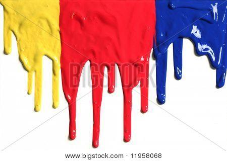 Paint tropft