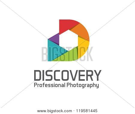 Photography Logo Design Vector Template. Camera Lens Symbol Vector . Digital Photo  Design Vector.