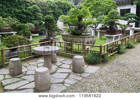 Classical Garden In Suzhou,  China