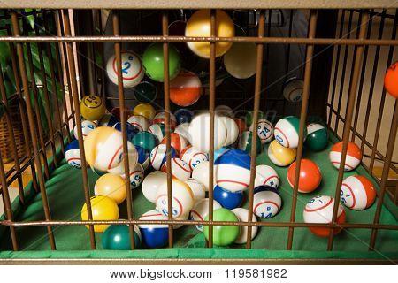 Bingo balls